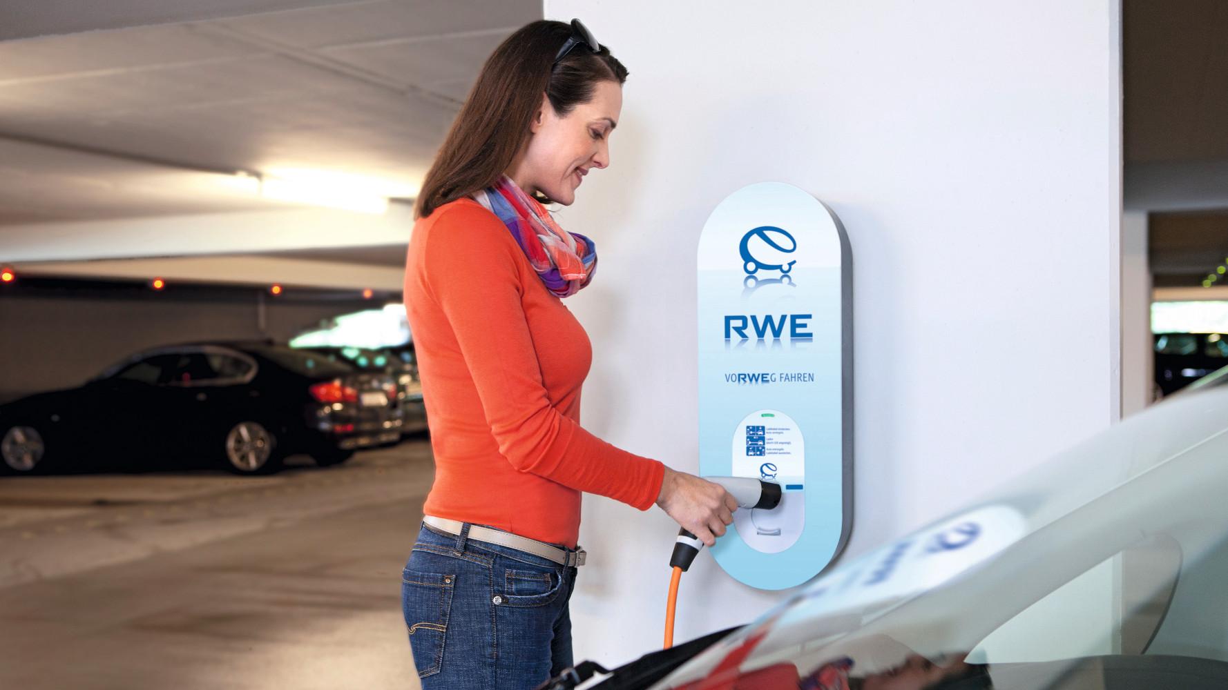 RWE Ladeequipment nun auch bei EURONICS