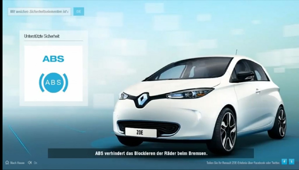 Renault Zoe - Youtube Video