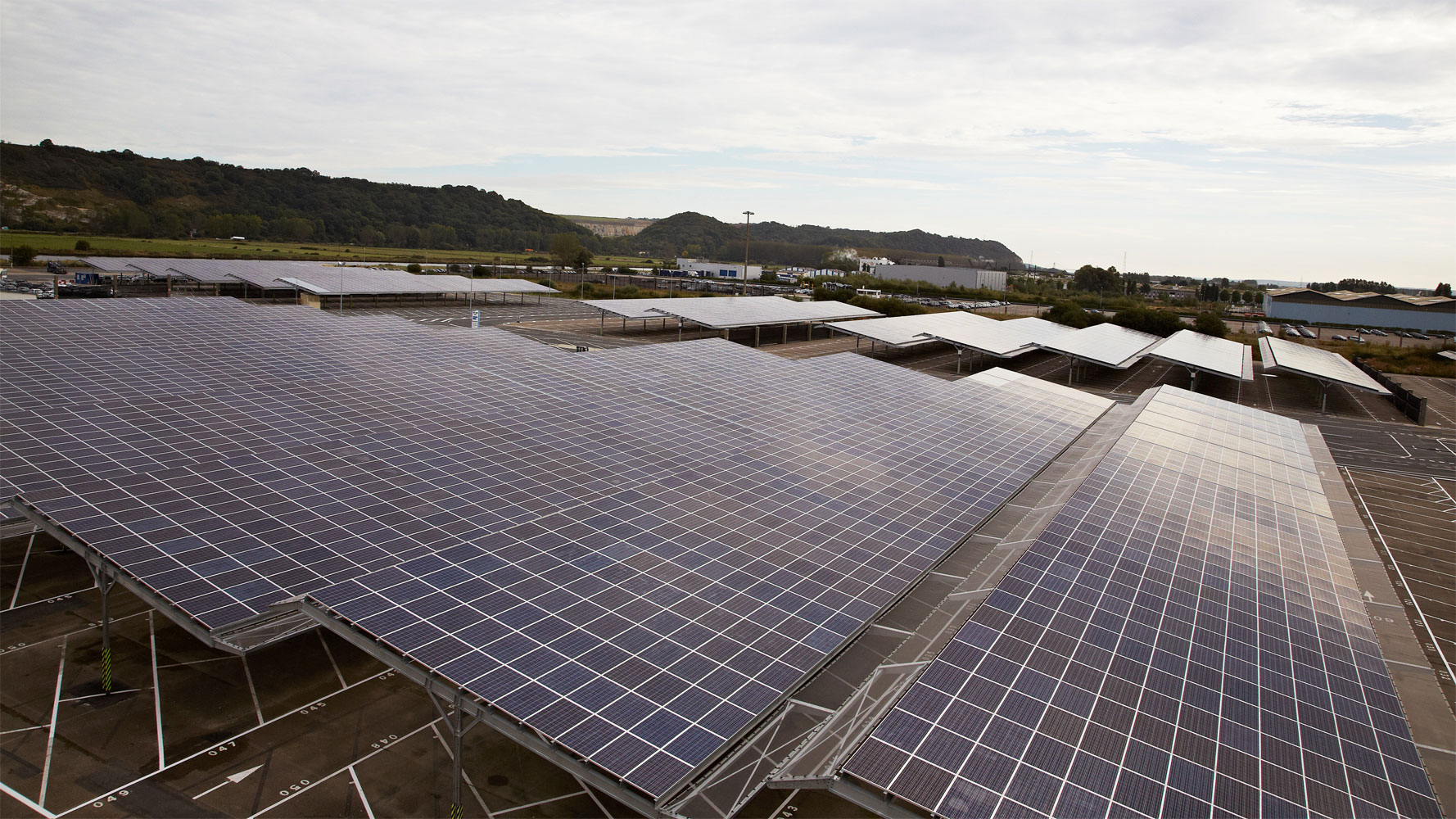 Renault nimmt 59 MW Photovoltaik in Betrieb