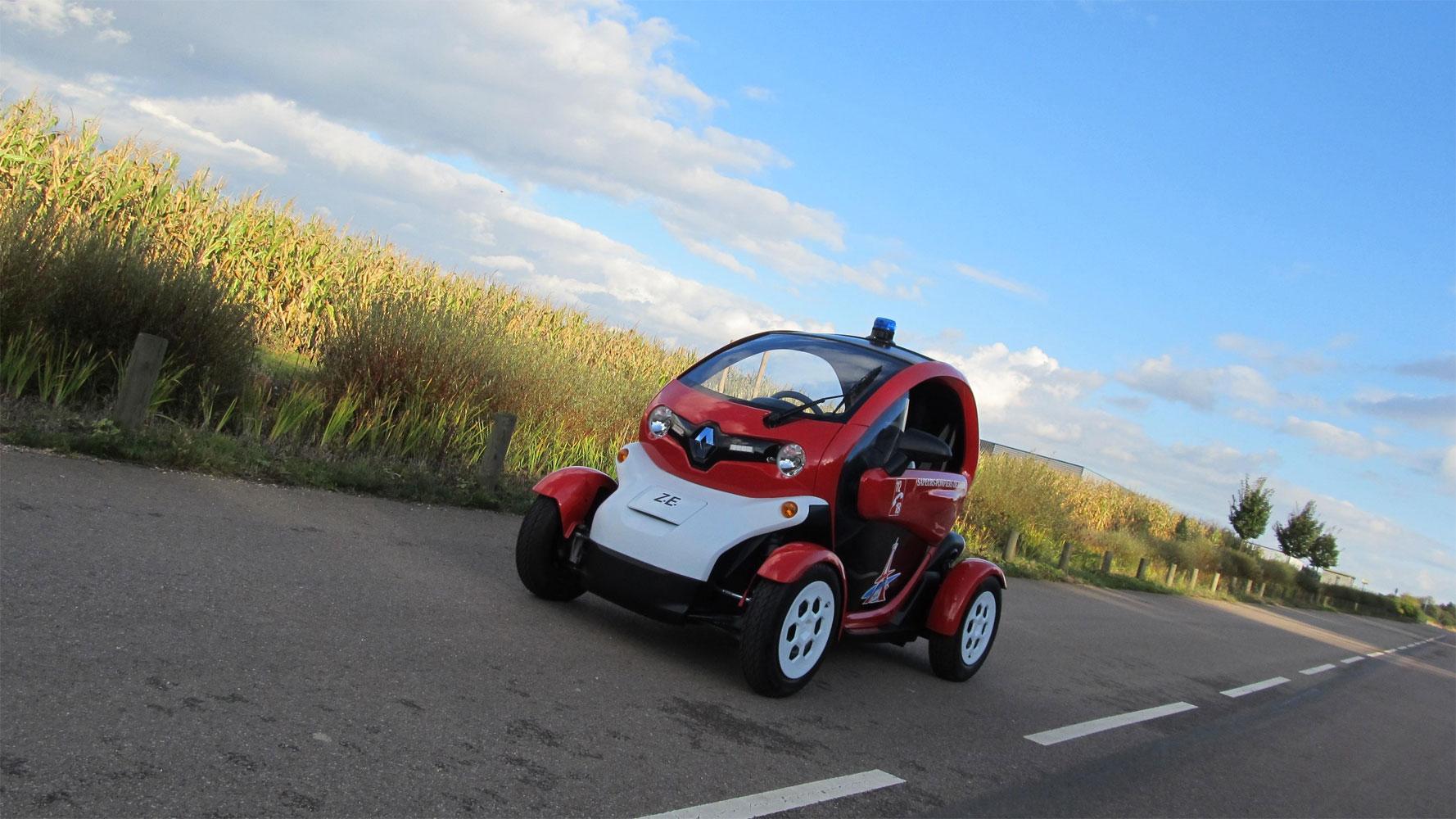 Renault Twizy als Feuerwehrauto