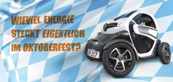 Renault Twizy Oktoberfestbier