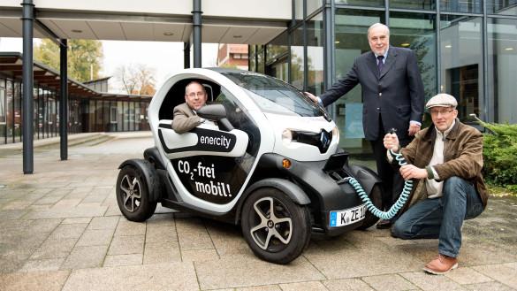 Halbzeit bei Renault Twizy Test von enercity