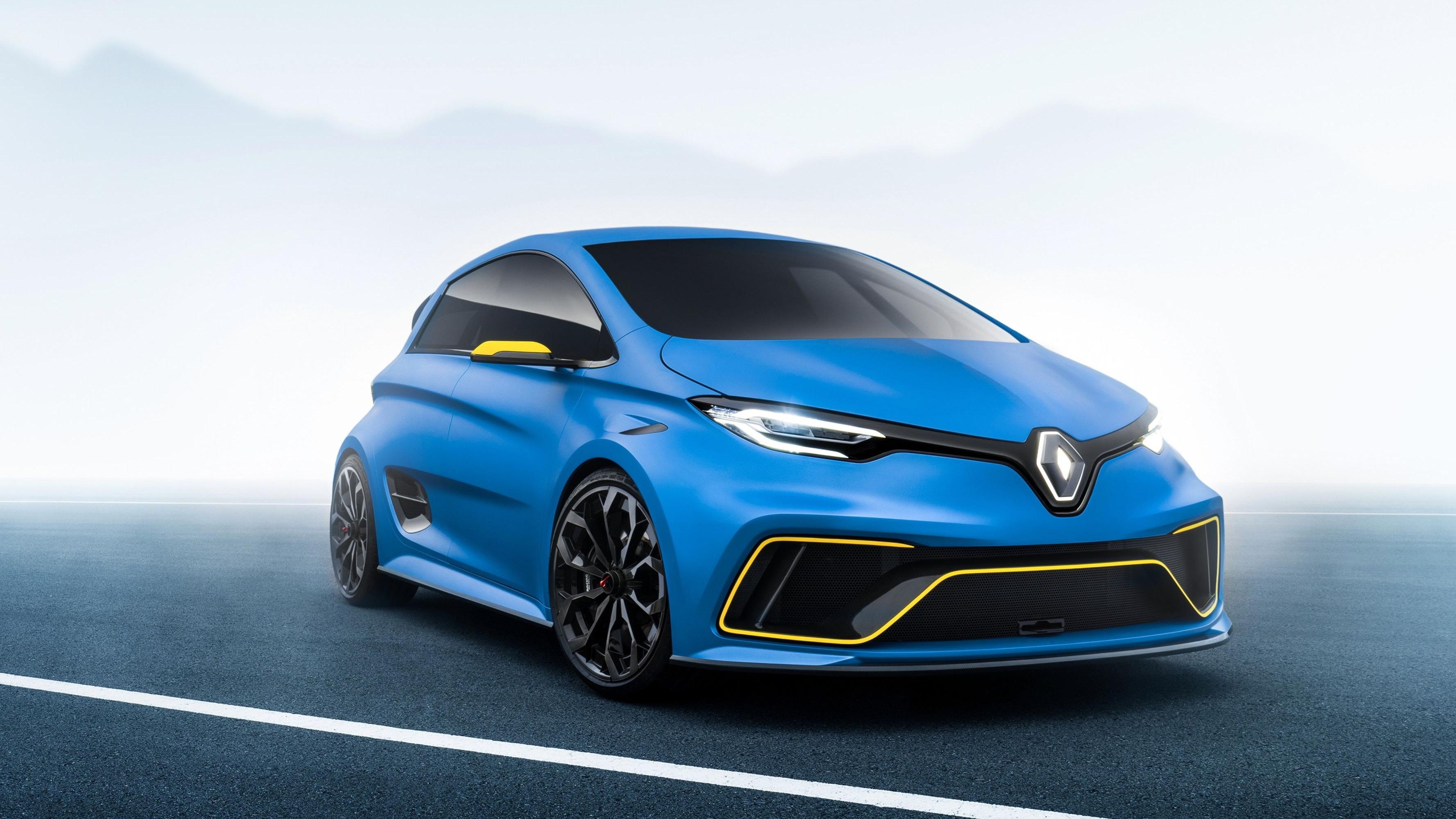 Renault zeigt ZOE e-Sport Concept auf dem Genfer Autosalon