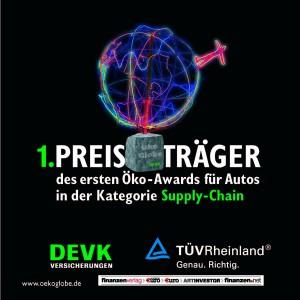 Renault gwinnt Ökoglobe 2012