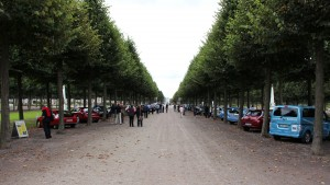 Schlossgarten Schwetzingen Bertha Benz Challenge