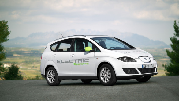 Altea XL Electric Ecomotive Studie von Seat