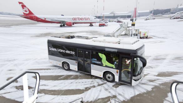 Solaris Test am Flughafen Hamburg