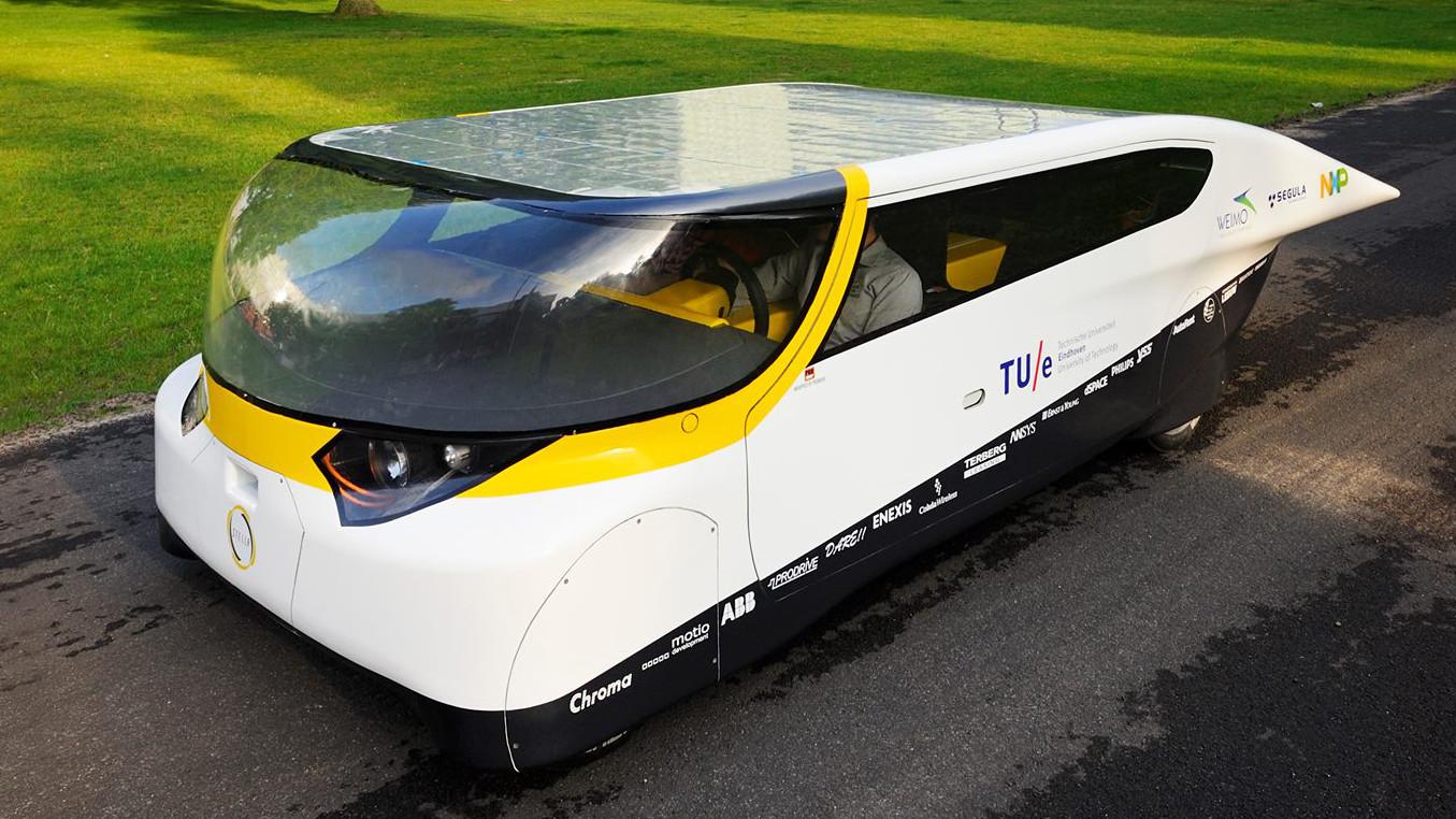 TU/e: Erstes Plus-Energie Auto vorgestellt