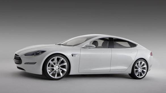 Tesla Model S Drag Racing