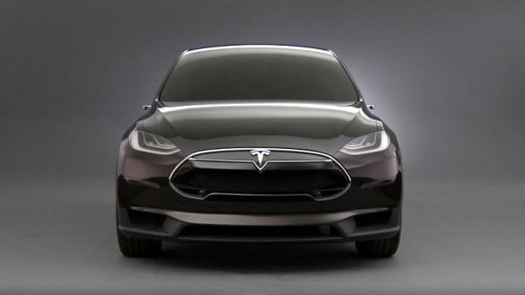 Tesla Model X ohne Spiegel