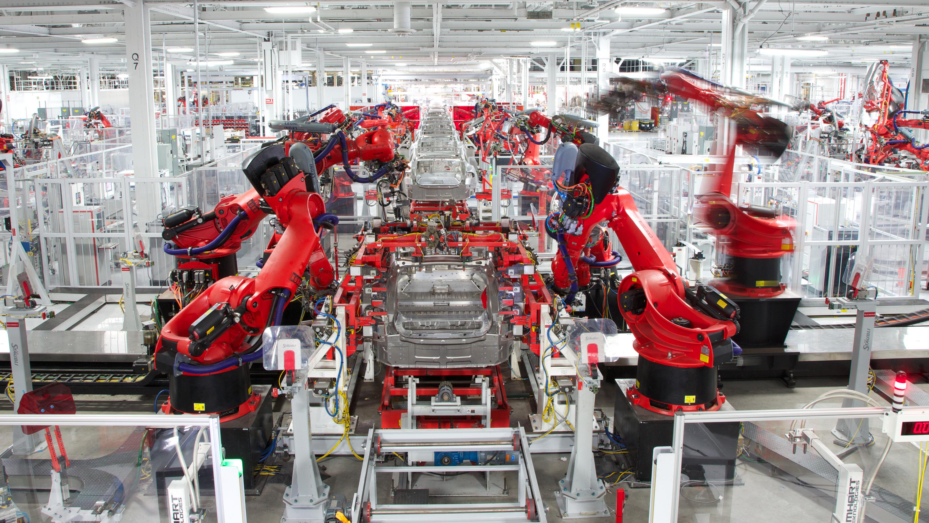 Tesla will Produktion deutlich steigern