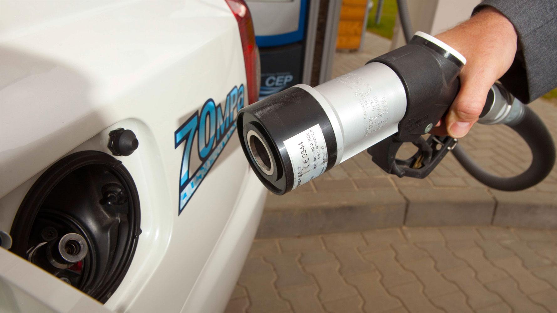 Brennstoffzellen-Testfahrt Drive'n'Ride