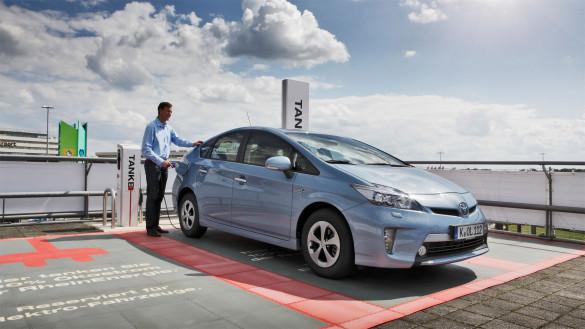 Toyota Prius ferngesteuert
