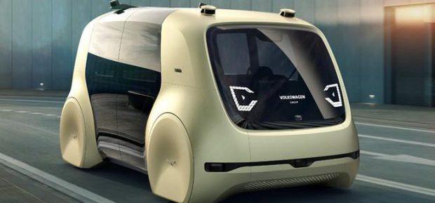 Volkswagen stellt autonomes Konzeptauto Sedric vor