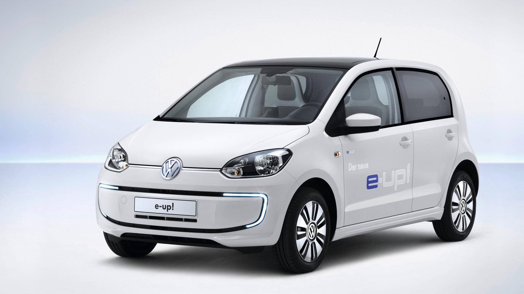 VW e-up! kommt im Herbst mit 150 km Reichweite
