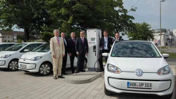 Volkswagen CCS Schnellladesäule Wolfsburg