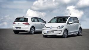 Volkswagen e-up und e-Golf feiern Weltpremiere auf der IAA 2013