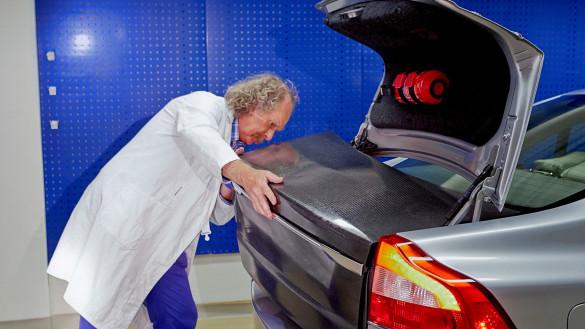 Volvo verbaut Stromspeicher in Fahrzeugteilen