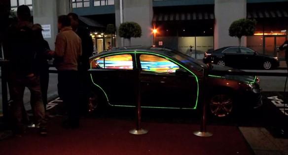 Acura ILX Hybrid LED Show