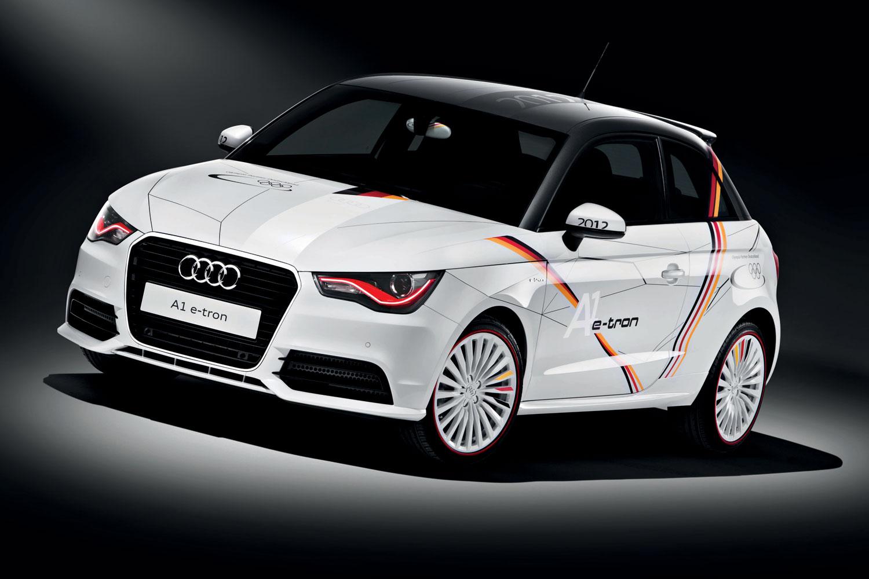 Audi A1 e-tron für deutsches Olympia-Team
