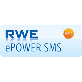 RWE ePower SMS