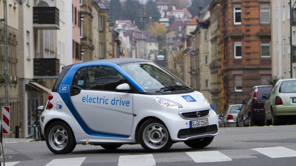 car2go Stuttgart knackt eine Millione elektrische Kilometer