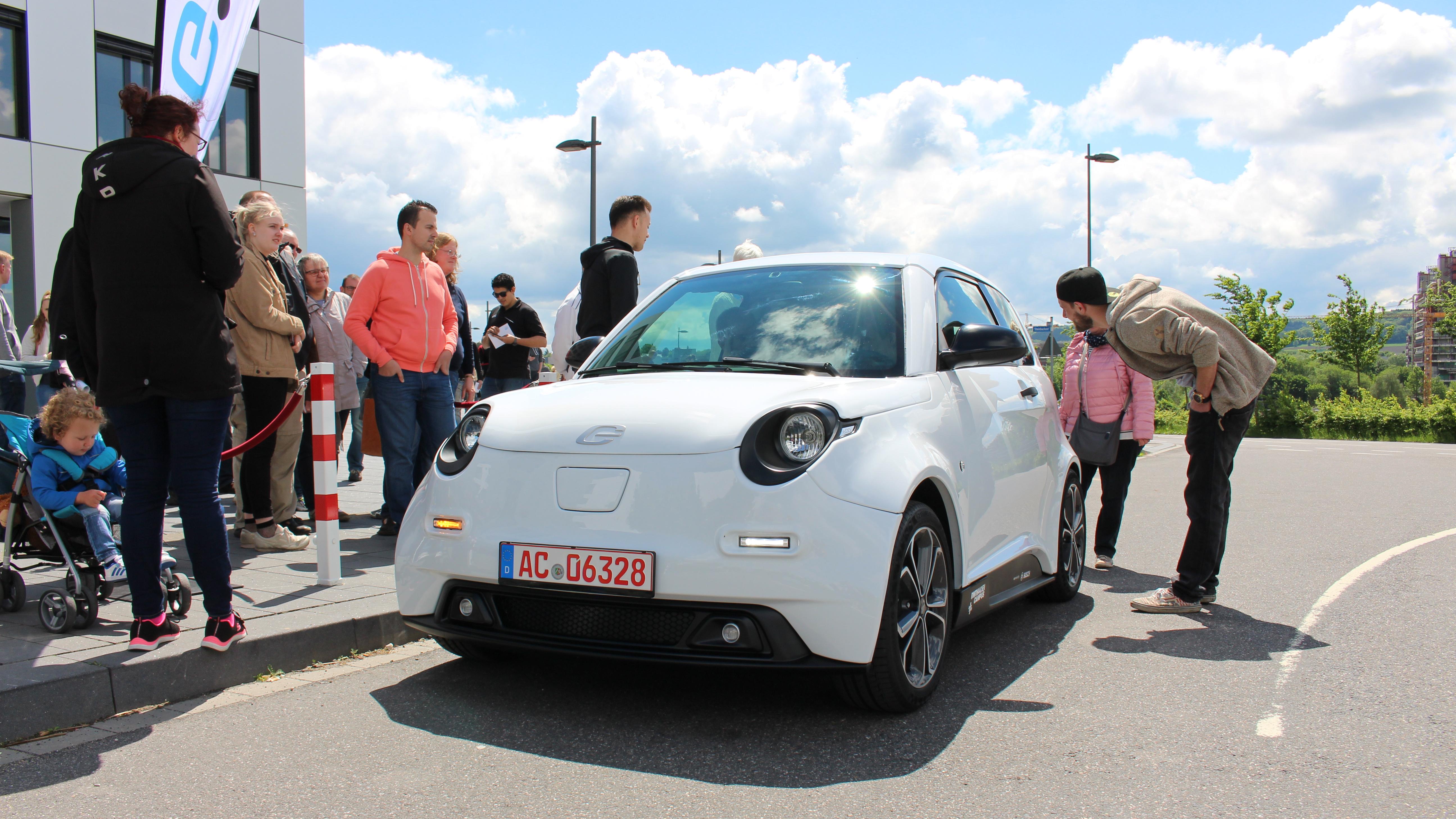 e.GO Life das Stadt-E-Auto aus Aachen