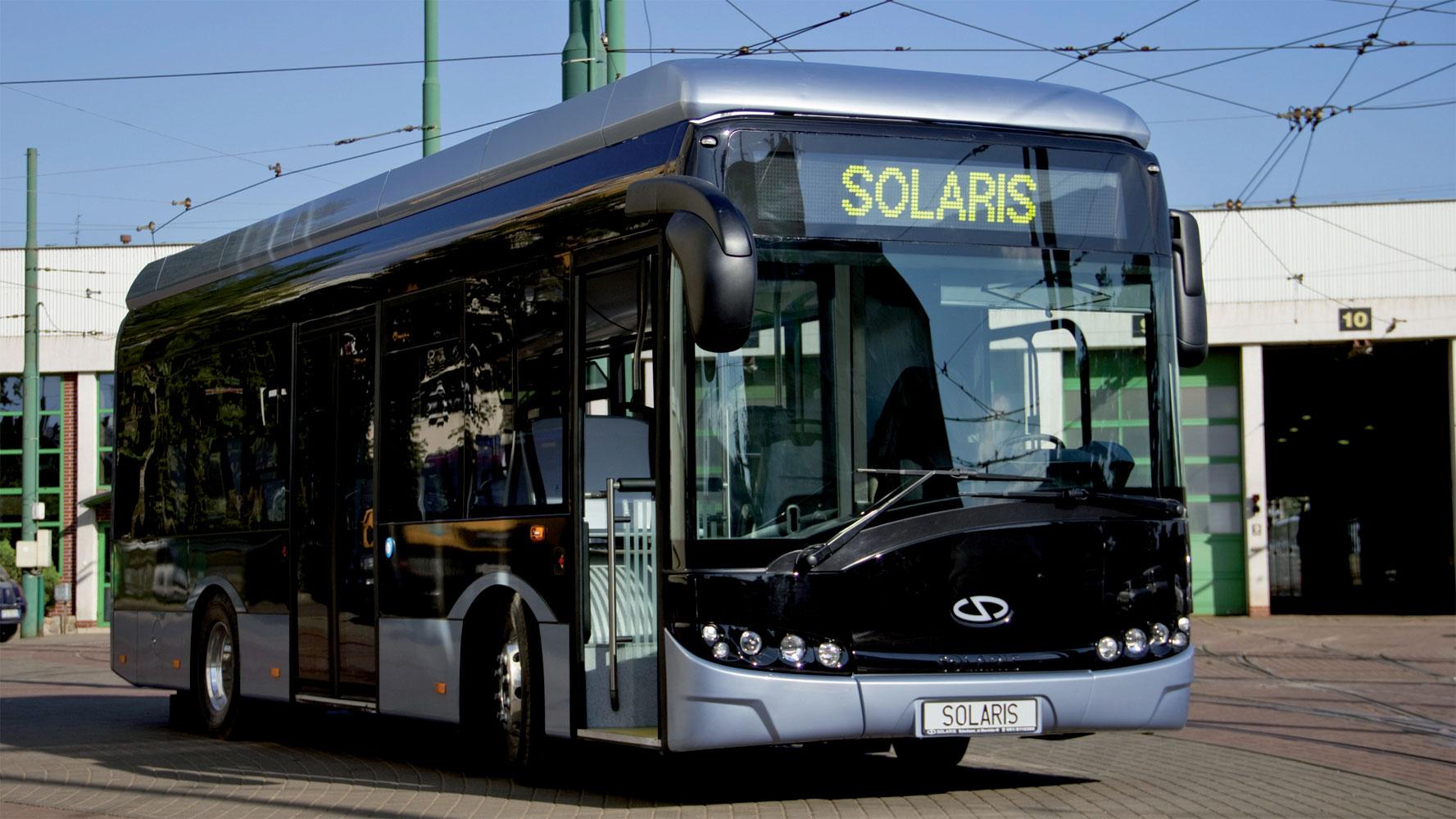 Elektro-Bus Solaris Urbina electric erfolgreich in Kassel getestet