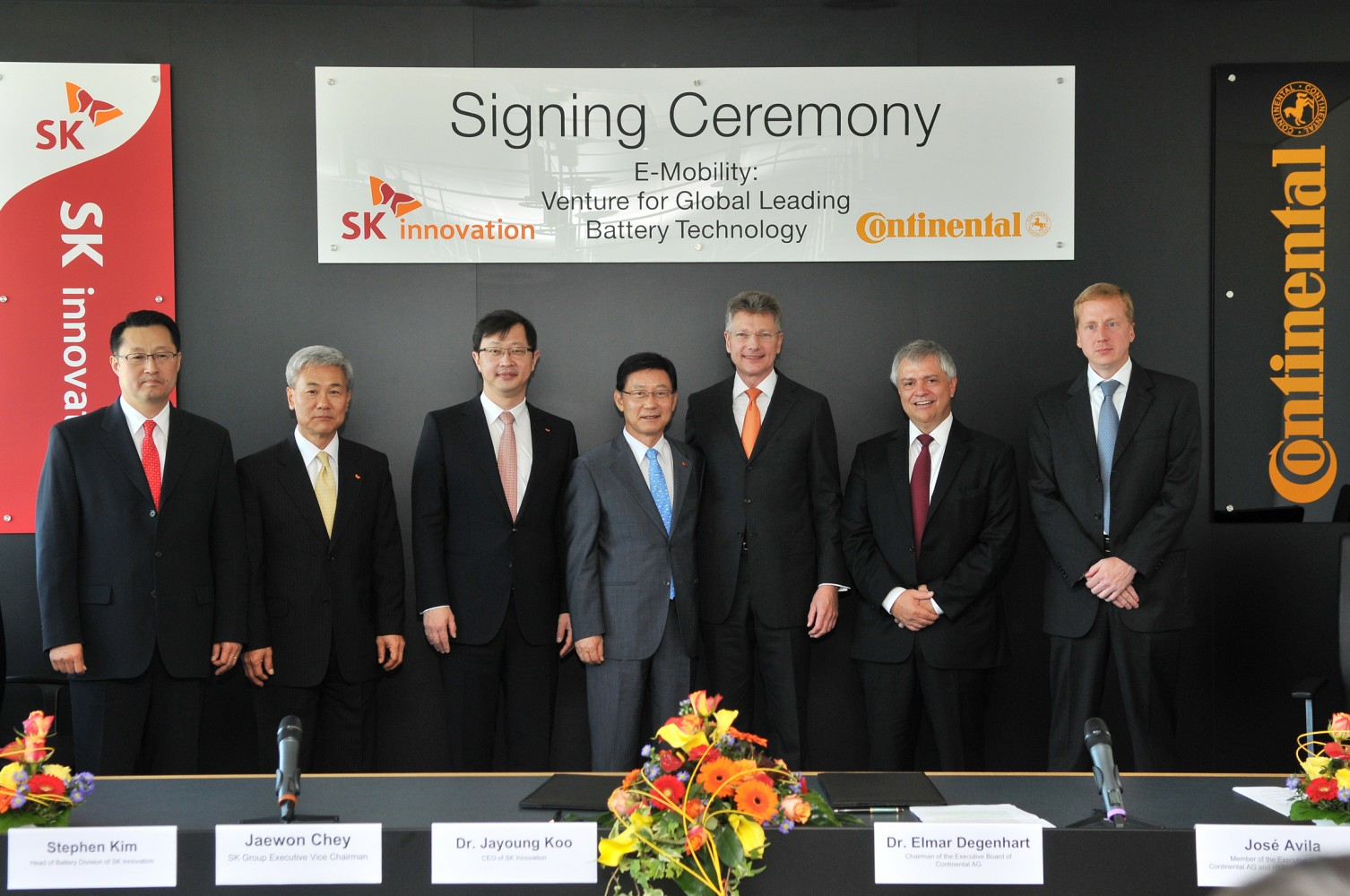 Continental und SK Innovation entwickeln Lithium-Ionen Batterien