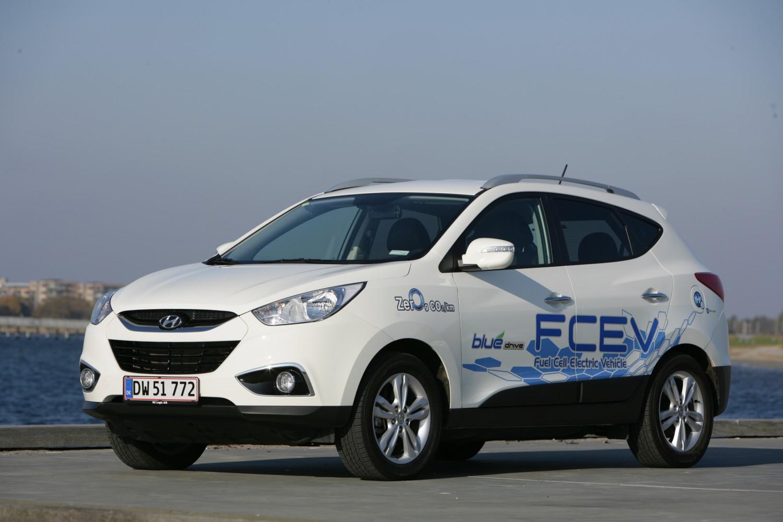 Rekord: 2160 km mit Wasserstoff – Hyundai ix35 FCEV