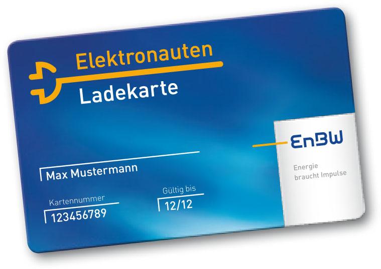 EnBW Elektronauten Ladekarte
