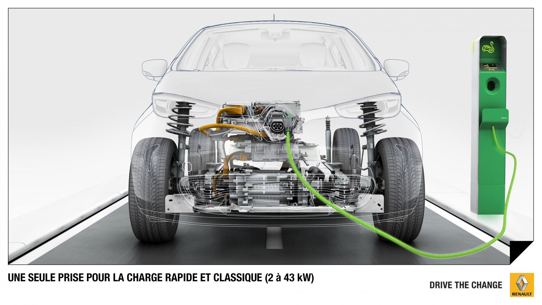 Renault ZOE – Chamäleon Ladesystem