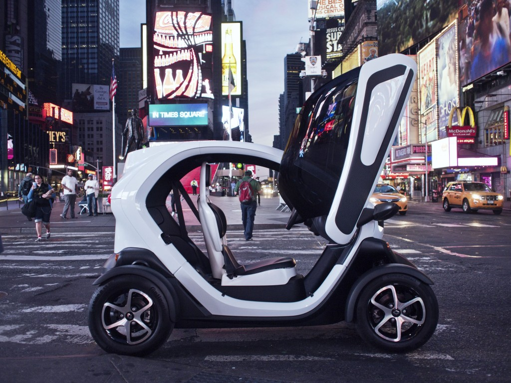 Renault Twizy red dot: best of the best