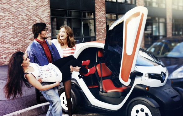 Renault Twizy bei Avis mieten