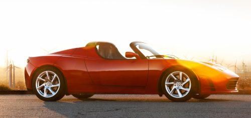 Der neue Roadster zum Greifen nah