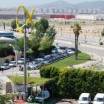 Sanya Skypump Elektroauto Wind Stromtankstelle