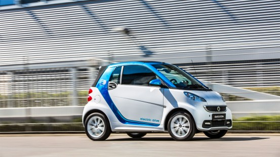 smart fortwo electric drive Leasing mit Sixt