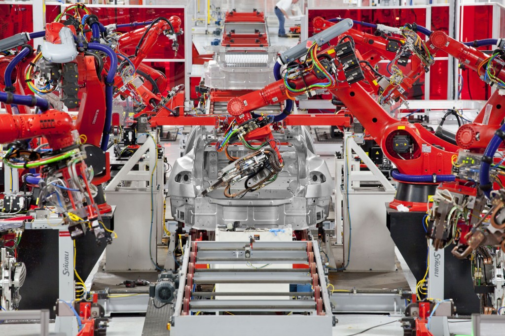 Tesla Model S Produktion