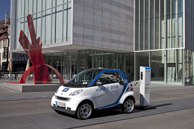 Elektroauto mieten – car2go in Ulm