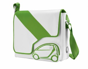 smart electric drive Schultertasche