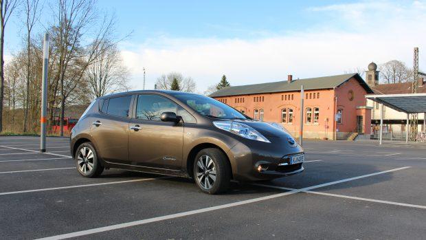 Mein Test des 2016 30 kWh Nissan Leaf