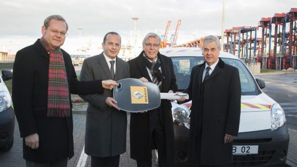 24 Renault Kangoo Maxi Z.E. für Hamburger Hafen