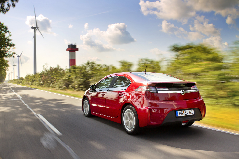 Opel Ampera erfolgreichstes Elektroauto in Europa