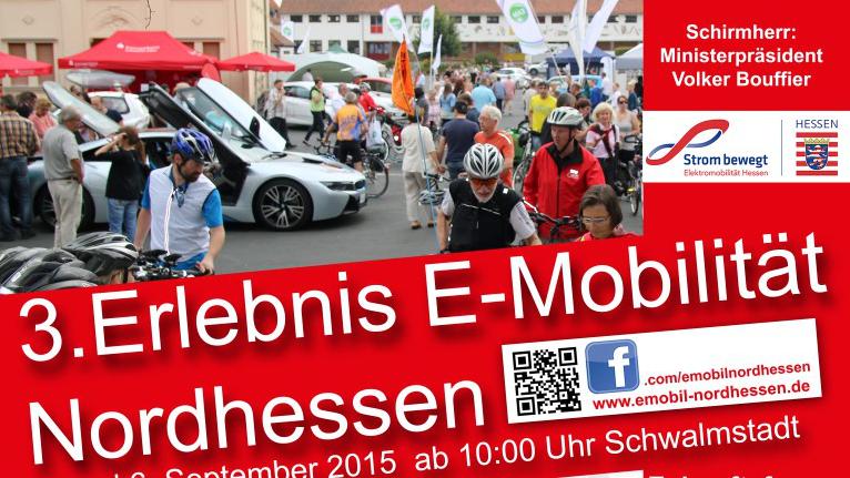 3. Erlebnis E-Mobilität Nordhessen – 5. & 6. September Schwalmstadt