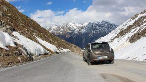 Nissan Leaf Ötztaler Gletscherstraße