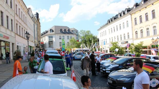 WAVE 2015 Ankunft Klostermarkt Plauen