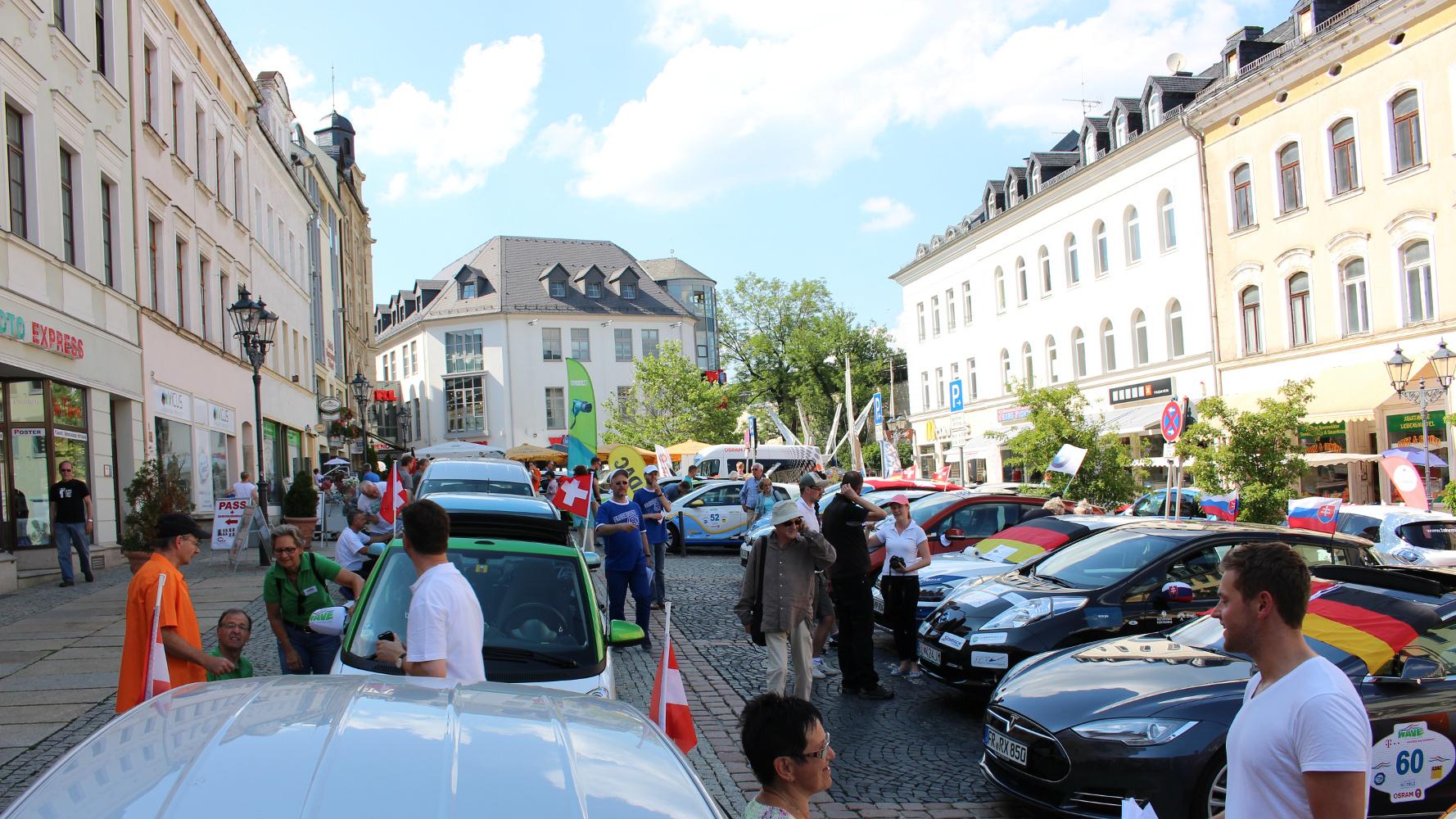 Tag 0 der WAVE 2015: Ankunft in Plauen