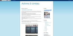 Achims Audi 100 Umbau