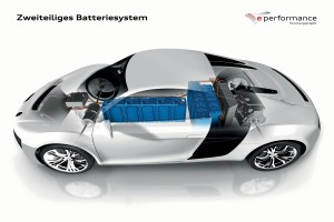 Audi F12 e performance Batterie