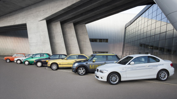 BMW 40 Jahre Elektromobilität